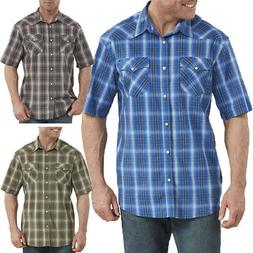 Dickies Shirts Mens FLEX Icon Relaxed Fit Western Short Slee