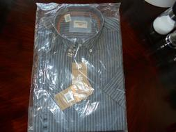 Dockers Short Sleeve Dress Shirt Size S Color Gray