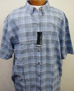 Sport Shirt Big and Tall Van Heusen SS 4X NWT Luxe Touch Pla