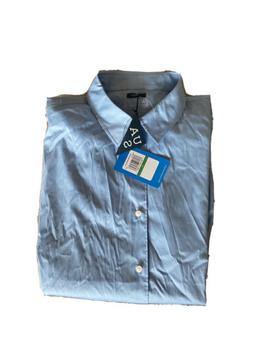 Under Armour Sports Wear Button Down Dress Shirt Light Blue