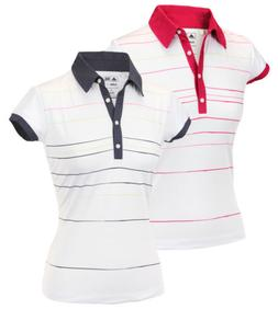 Adidas Taylormade Womens Climalite Painted Stripe Print Golf