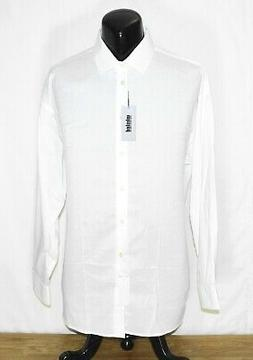 Kenneth Cole Unlisted Men's Regular Fit White Dress Shirt So