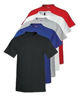 Hanes USA Beefy T TALL BLACK GREY RED BLUE or WHITE Extra Lo